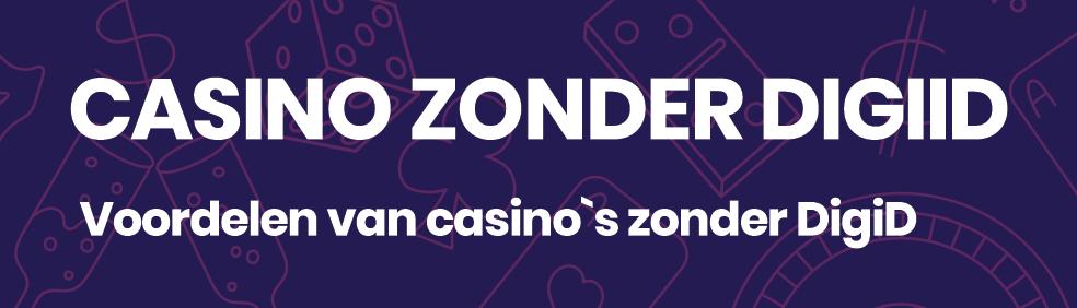casino zonder digid banner